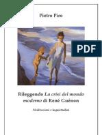 PIETRO PIRO - Crisi Mondo Moderno