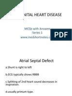 congenital heart disease series 1