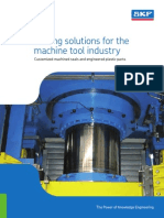 Sealing Solutions for the Machine Tool Industry - Customized Machined Seals and Engineered Plastic Parts