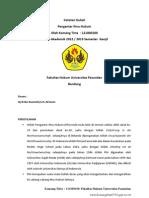Catatan Kuliah Pengantar Ilmu Hukum