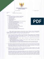 B 143 Himbauan Terkait Gratifikasi