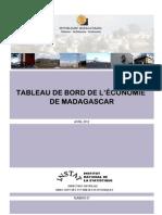 TABLEAU DE BORD DE L'ÉCONOMIE DE MADAGASCAR (Avril 2012)
