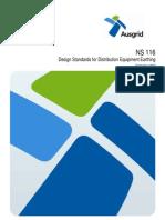 Www.ausgrid.com.Au ~ Media Files Network Documents NS and NUS NS116