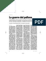 Paolo Sidoni - Le guerre del pallone