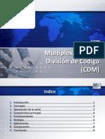 Multiplexación por División de Código (CDM)