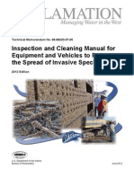 Equipment Inspection and Cleaning Manual 2012