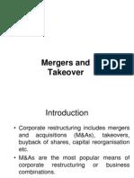 Merger & Takeover