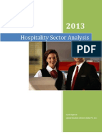 Hospitality Sector Overview - India | 2013