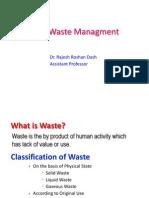 Revised Solid Waste Management
