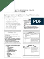Risc Si Prognostic in Anestezie Si Terapie Intensiva.sisteme