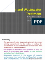 X Water and Wastewater Treatment Modified