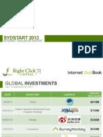 Sydstart 2013 Internet Dealbook Report