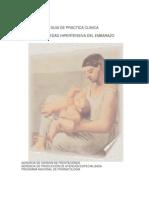 Enfermedad Hipertensiva del embarazo - CALVE AZUL(manejo Clínico)