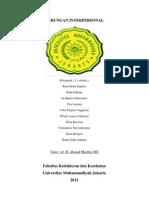 PBL Modul 2 Hubungan Interpersonal (Kel. 11)