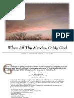 When All Thy Mercies, O My God
