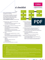 Checklist Web