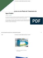 La Prueba de Jarras en Una Planta de Tratamiento de Agua Potable.