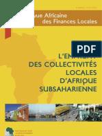 L'emprunt des collectivités locales d'Afrique Subsaharienne