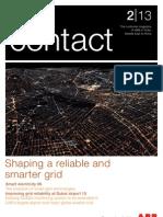 ABB Contact 2/13 Southern Gulf & Pakistan- Grid Reliability