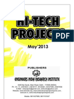 Hi Tech Projects Magazine on Industrial Project Reports and Books