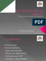 Tema 6. Servicio de Voz Por Red (VoIP)