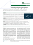 Female Menstrual Cycle