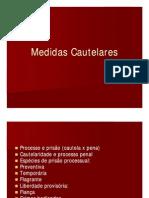 Medidas Cautelares [Modo de Compatibilidade]