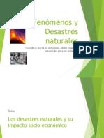 Fenomenos y Desastres Naturales