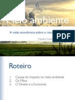A Visão Econômica Sobre Risco Ambiental - Claudio Contador[1]