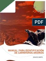 Manual Para Identificacion de Carnivoros Andinos
