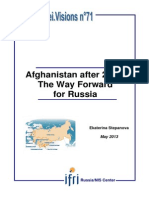 Afghanistan after 2014