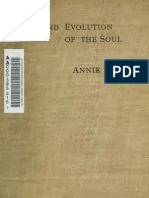 Annie Besant - The Birth and Evolution of the Soul
