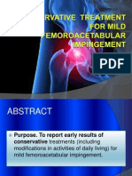 Conservative Treatment for Mild Jurnal  a journal power point about conservative treatement in mild f