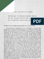 Jaramillo, Jaime. Mestizaje y diferenciación social en el Nuevo Reino de Granada.pdf