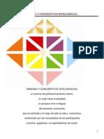 Carta Armonia y Concierto de Inteligencias Mayo 28 Bienvenida