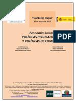Politicas Regulatorias y Politicas de Fomento
