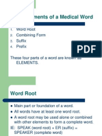 Medical Terminology 1