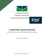 A publicidade segundo Sherazade
