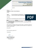 Coti San Pablo II Logistica Kalotas