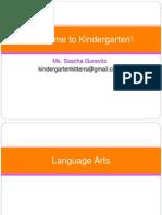 Kindergarten Readiness Power Point