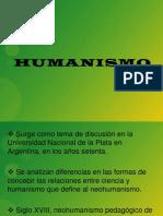 Humanismo presentación