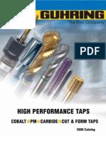 2007 Tap Catalog