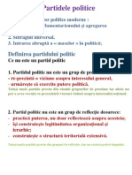 Partide politice