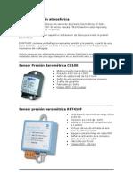 Sensores presión atmosférica