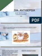 asepsia- antisepsia