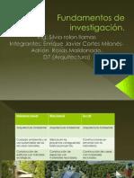 Fundamentos de investigación _ contexto internacional, nacional y local