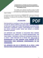 Instructivo Pruebas Academicas de La Policia Metropolita de Quito