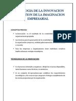 Tecnologia de La Innovacion y La Gestion de La Imaginacion Empresarial