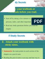 5 Study Secrets