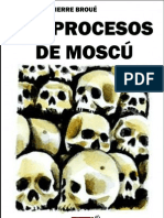 Los Procesos de Moscu de Broue